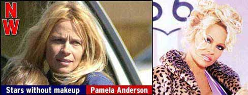 Pamela Anderson without makeup pic from Celebrities