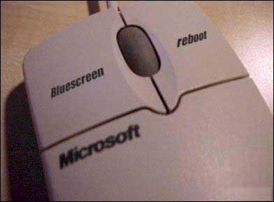A true Microsoft mouse pic from Computers