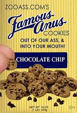 Famous cookies - Chocolate chip! pic from Food, Signs and Ads