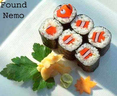 Found Nemo! pic from Food, Movies