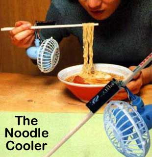 Useless Inventions: The Noodle Cooler pic from Food, Weird