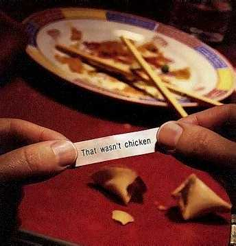 Not a kind of fortune you are looking for pic from Food