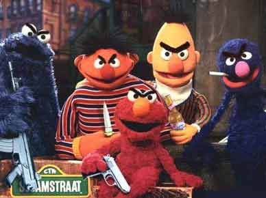 Sesame Street Gang pic from Movies
