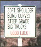 Best of luck! pic from Cars, driving and traveling, Real-life signs and labels