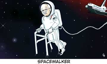 Spacewalker pic from Geeks, Miscellaneous