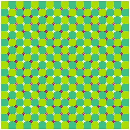 Scroll it up and down or just look at it pic from Optical Illusions