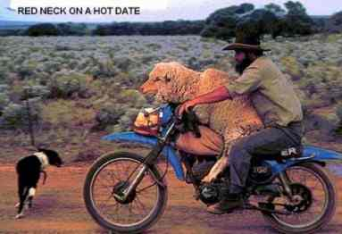 Redneck on a hot date pic from Ethnic