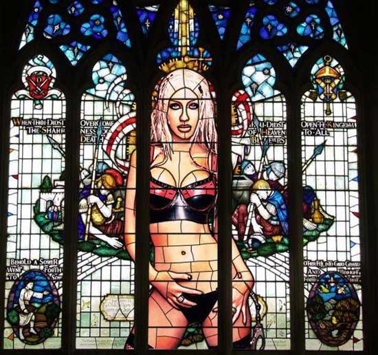 Breathtaking stained glass pic from Miscellaneous, Religion, Art and Sculpture