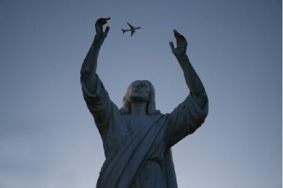 A fly-over pic from Religion